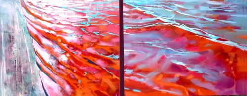 water_sign_oiloncanvas_40x120cm